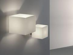 Applique a luce indiretta in vetro CUBE | Applique - Cube