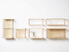 Pensile a giorno in legno masselloCUBEBRICK - KARL ANDERSSON & SÖNER