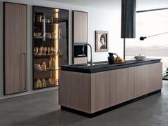 Cucina in legno con penisolaCUBIC | Cucina con penisola - SHAKE