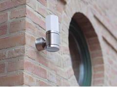 Applique per esterno in acciaio inox e vetroCUBIX D - BEL-LIGHTING