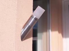 Applique per esterno in acciaio inox e vetroCUBIX Y - BEL-LIGHTING
