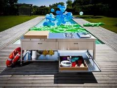 Cucina da esterno a gas elettrica con grillOUTDOOR 190 | Cucina da esterno - ALPES-INOX