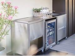 Cucina da esterno in acciaio inoxCUN CUCINA OUTDOOR TEPPANYAKI - JOKODOMUS