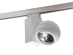 Illuminazione a binario alogena in alluminio CUP -