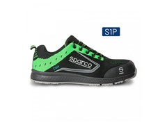 Scarpe antinfortunistiche basseCUP S1P - NERO/VERDE FLUO - SPARCO