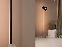Lampada da terra cinema in ferro con treppiede cm lampada