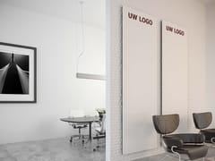 Lavagna per ufficio a pareteCURVE - SMIT VISUAL