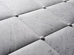 SALVATORI, CUSCINI Rivestimento tridimensionale in marmo di Carrara