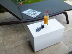 TAVOLINO DA GIARDINO SU MISURA CON RUOTECUSTOM SIDE TABLE IMAGE'IN   TAVOLINO - ATELIER SO GREEN