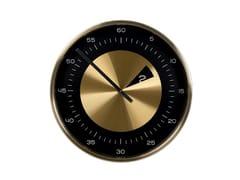 Orologio in acciaio da pareteCUT NUMBERS - KARE DESIGN