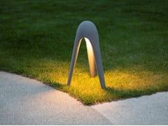 Paletto luminoso a LED in cemento fibrorinforzatoCYBORG OUTDOOR - MARTINELLI LUCE