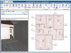 Software per calcolo di impianti radianti a pavimentoCYPETHERM RADIANT FLOOR - ATH ITALIA - DIVISIONE SOFTWARE