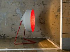 Lampada da terra in resina effetto cemento CYRCUS F CEMENTO - Matt Cemento