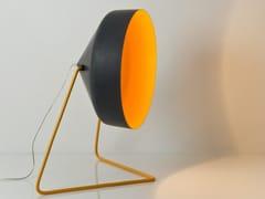 Lampada da terra in resina effetto lavagna CYRCUS F LAVAGNA - Matt Lavagna