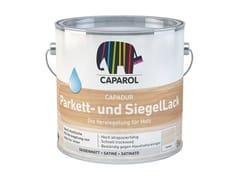Finitura trasparente all'acqua con alta resistenza all'abrasioneCapadur Parkett- und SiegelLack - DAW ITALIA GMBH & CO. KG