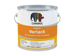 Fondo carteggiabile monocomponente, riempitivo, esente da aromaticiCapalac Vorlack - DAW ITALIA GMBH & CO. KG