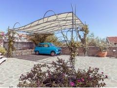GH LAZZERINI, Carport 1 Pensilina in ferro battuto per posto auto