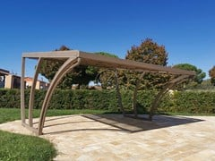 Pensilina in ferro battuto per posto autoCarport 5 - GARDEN HOUSE LAZZERINI