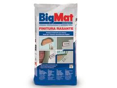 BigMat, Finitura rasante Rasante per intonaco