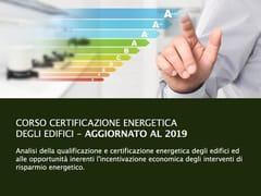 UNIPRO, Certificazione Energetica degli Edifici Corso per certificatori energetici