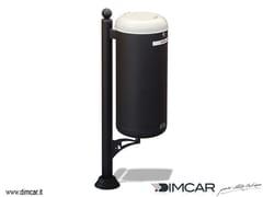 Portarifiuti con coperchio per raccolta differenziataCestino Ecocity per raccolta farmaci - DIMCAR