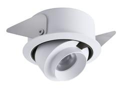 Faretto a LED orientabile in alluminio da incassoCiak 2.6 - L&L LUCE&LIGHT