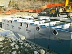 Impianto di depurazione e smaltimentoImpianti prima pioggia in continuo - GAZEBO