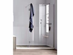 Chiusura doccia ad angolo con anta mobile Chiusura doccia ad angolo - anta mobile -