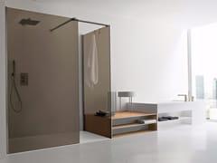 Chiusura doccia ad angolo walk-in Chiusura doccia ad angolo - walk in -