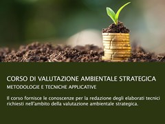 UNIPRO, Corso Valutazione Ambientale Strategica Corso di Valutazione Ambientale Strategica