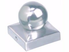 Borchie copripalo quadrate con sferaBorchie copripalo quadrate con sfera - UNIFIX SWG