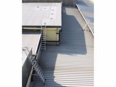 Scala antincendio metallicaScale di passaggio tra tetti - SVELT