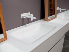 Lavabo in Corian® con piano D2 | Lavabo con piano -