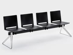 Seduta su barra a pavimento in plasticaDAISY | Seduta su barra - VIGANÒ & C.