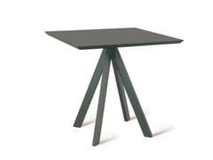 Tavolo da giardino quadrato in metalloDAISY | Tavolo quadrato - VERMOBIL