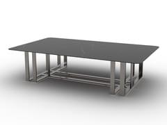 Tavolino da caffè rettangolare in metalloDAKOTA | Tavolino - F.LLI PIERMARIA