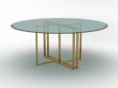 Tavolo rotondo in cristalloDAKOTA | Tavolo rotondo - F.LLI PIERMARIA