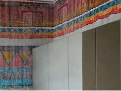 Wall&decò, DAKOTA Carta da parati geometrica per bagno