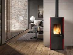 Stufa a legna per riscaldamento aria classe ADALIA - PALAZZETTI LELIO