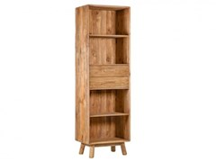 Libreria a giorno autoportante in pino con cassettiDALIA - ARREDIORG