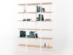 Libreria in ferro pieno e legnoDALTON - BAREL