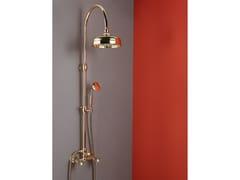 Colonna doccia a parete con soffioneDAMES ANGLAISES 5719GB30 + 1425GB18 - NICOLAZZI