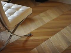 Parquet in legno massello spazzolato in Rovere EuropeoDANUBIO - ALMA BY GIORIO