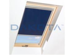 Dakota, TENDINA OSCURANTE INTERNA Tenda per finestre da tetto a rullo oscurante in cotone per interni