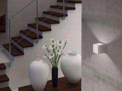 Lampada da parete a LED a luce diretta e indiretta con dimmer DAU LED 6383 - Dau