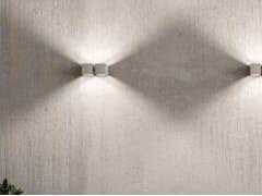 Lampada da parete a LED a luce diretta e indiretta con dimmer DAU LED 6384 - Dau