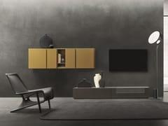 Parete attrezzata componibile fissata a muroDAY MOOVE | Composizione M106 - TOMASELLA IND. MOBILI