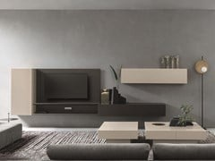 Parete attrezzata componibile con porta tvDAY MOOVE | Composizione M111 - TOMASELLA IND. MOBILI