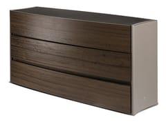 Cassettiera in legno e pelleDEA | Cassettiera - PAOLO CASTELLI