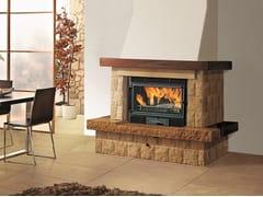 EDILKAMIN, Firebox DECO Inserto per camini a legna in ghisa